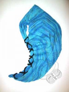 pfeilgrad blau
